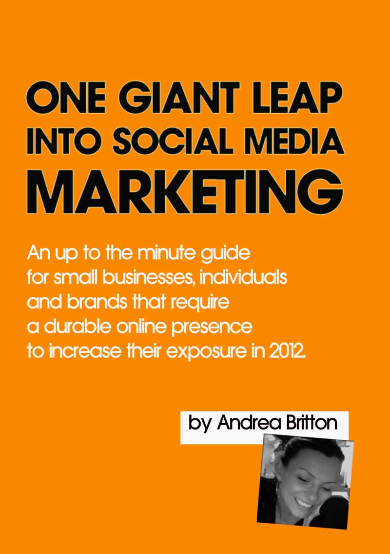One Giant Leap into Social Media Marketing – AVAILABLENOW!