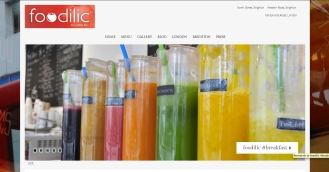 Web/Blog Design/Digital Campaign: Foodilic