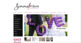 WebSite Design: Gemma Brown