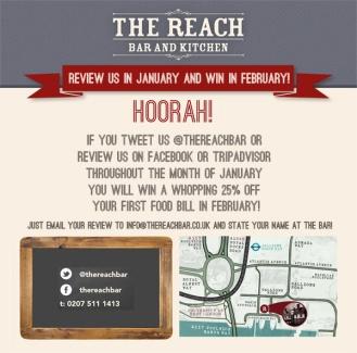 Social Media Campaign: The Reach Bar & Kitchen