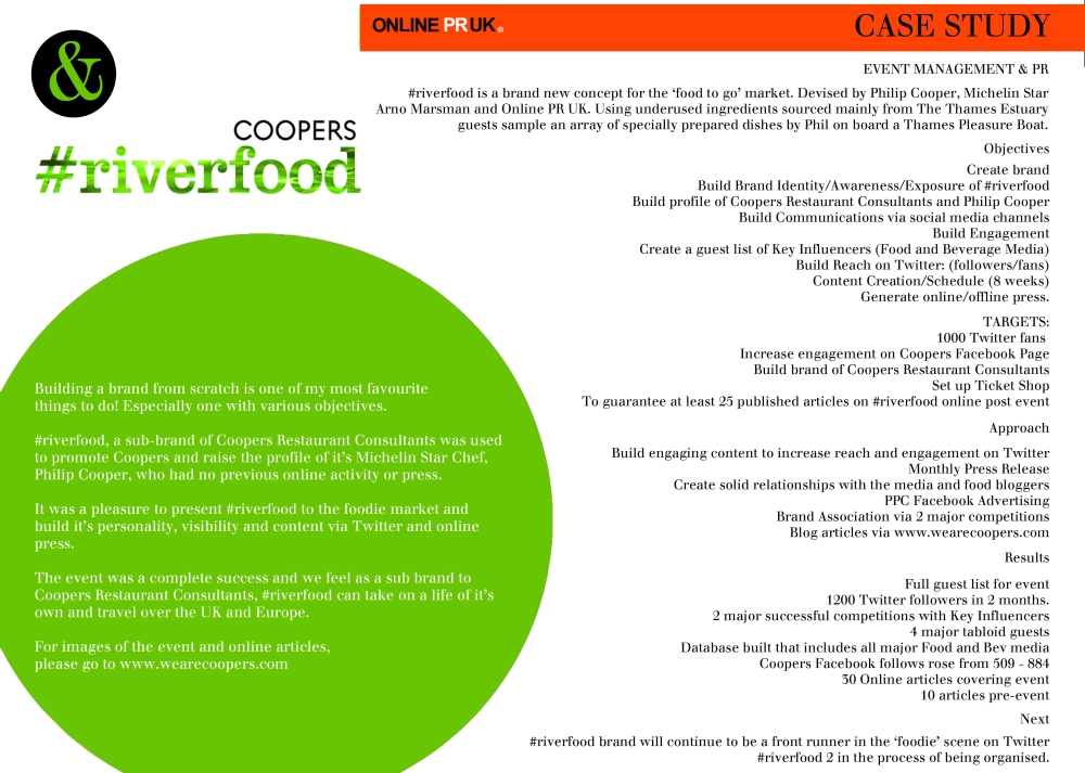riverfood case study