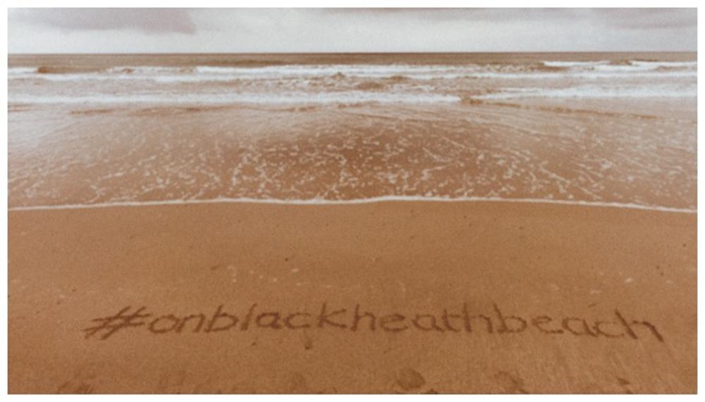 #onblackheathbeach