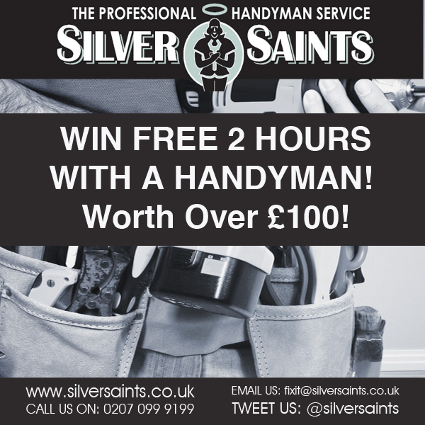 Win 2 Hours of Handyman Time with Silver Saints andMumsnet!