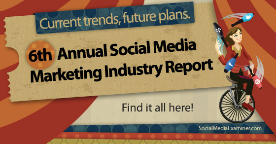Social Media Marketing Industry Report@SMExaminer