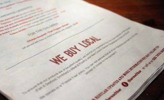 Menu Consultation and Design