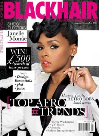 PR and Sponsorship: Black Hair Magazine
