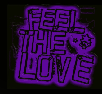 feel the love purple