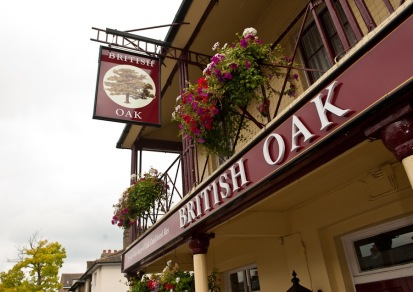 British Oak Pub