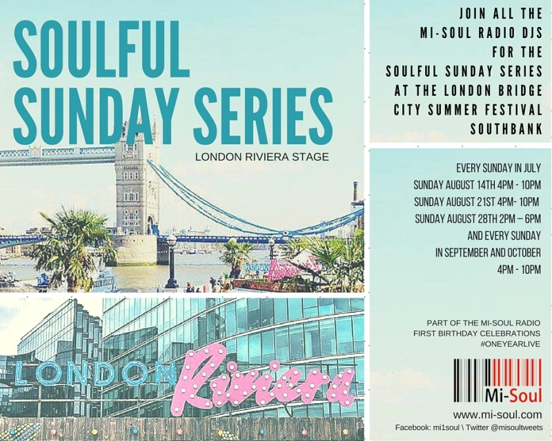 Event Release: Mi-Soul Radio on Southbank