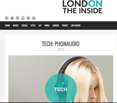 PR: London On The Inside