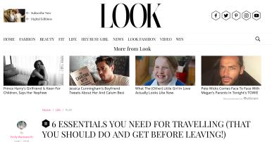 PR: Look Magazine