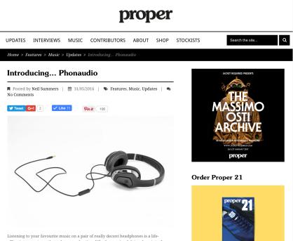 PR: Proper Mag
