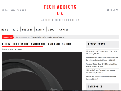 PR: Tech Addicts