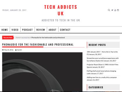 PR: Tech Addicts