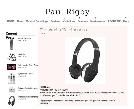 PR: Independent Audio Reviewer