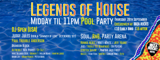 Legends Of House, Ibiza. Event PR