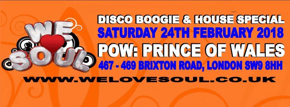we love soul POW Brixton